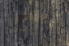 6044A-VD2 cikkszámú tapéta.Fa hatású-fa mintás,különleges motívumos,barna,bézs-drapp,sárga,szürke,vlies poszter, fotótapéta