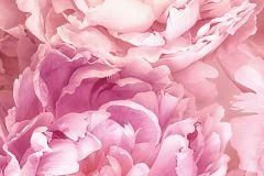 P009-VD1 cikkszámú tapéta.Virágmintás,pink-rózsaszín,vlies poszter, fotótapéta