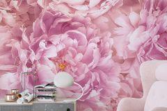 P009-VD2 cikkszámú tapéta.Virágmintás,pink-rózsaszín,vlies poszter, fotótapéta