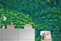 P019-VD2 cikkszámú tapéta.Természeti mintás,zöld,vlies poszter, fotótapéta