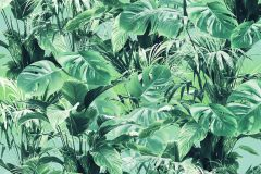 P023-VD2 cikkszámú tapéta.Természeti mintás,zöld,vlies poszter, fotótapéta