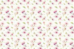 P042-VD2 cikkszámú tapéta.Bézs-drapp,pink-rózsaszín,zöld,vlies poszter, fotótapéta