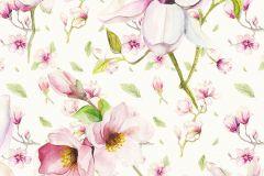 P043-VD1 cikkszámú tapéta.Bézs-drapp,pink-rózsaszín,zöld,vlies poszter, fotótapéta
