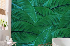 P044-VD2 cikkszámú tapéta.Kék,zöld,vlies poszter, fotótapéta