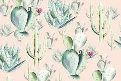 P045A-VD2 cikkszámú tapéta.Bézs-drapp,pink-rózsaszín,szürke,zöld,vlies poszter, fotótapéta