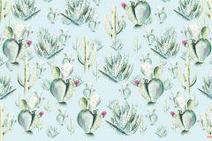 P045D-VD4 cikkszámú tapéta.Bézs-drapp,kék,pink-rózsaszín,zöld,vlies poszter, fotótapéta