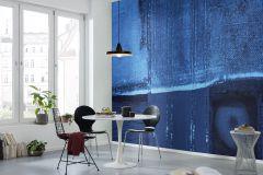 PRH-0245 cikkszámú tapéta.Absztrakt,fekete,kék,vlies poszter, fotótapéta
