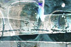 PRH-0318 cikkszámú tapéta.Absztrakt,arany,kék,lila,zöld,vlies poszter, fotótapéta