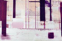 PRH-0819 cikkszámú tapéta.Absztrakt,bézs-drapp,lila,pink-rózsaszín,vlies poszter, fotótapéta