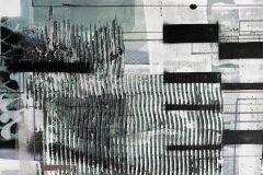 PRH-0864 cikkszámú tapéta.Absztrakt,zöld,fehér,fekete,szürke,vlies poszter, fotótapéta