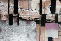 PRH-0893 cikkszámú tapéta.Absztrakt,barna,fekete,pink-rózsaszín,szürke,vlies poszter, fotótapéta