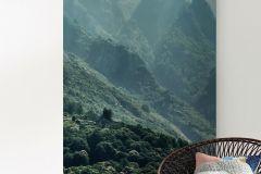 PSH033-VD1 cikkszámú tapéta.Fotórealisztikus,természeti mintás,szürke,zöld,vlies poszter, fotótapéta