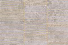 57402 cikkszámú tapéta.Absztrakt,különleges felületű,metál-fényes,arany,bézs-drapp,súrolható,vlies tapéta