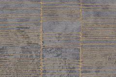 57407 cikkszámú tapéta.Absztrakt,különleges felületű,metál-fényes,arany,ezüst,szürke,súrolható,vlies tapéta