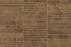 57409 cikkszámú tapéta.Absztrakt,különleges felületű,metál-fényes,arany,barna,súrolható,vlies tapéta