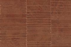 57410 cikkszámú tapéta.Absztrakt,különleges felületű,metál-fényes,narancs-terrakotta,súrolható,vlies tapéta