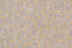 57502 cikkszámú tapéta.Absztrakt,geometriai mintás,különleges felületű,metál-fényes,arany,bézs-drapp,súrolható,vlies tapéta