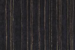 57708 cikkszámú tapéta.Csíkos,dekor,különleges felületű,metál-fényes,bronz,fekete,súrolható,illesztés mentes,vlies tapéta