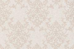 46501 cikkszámú tapéta.Barokk-klasszikus,különleges felületű,bézs-drapp,vajszín,súrolható,vlies tapéta