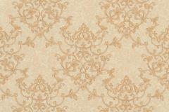 46502 cikkszámú tapéta.Barokk-klasszikus,különleges felületű,arany,bézs-drapp,súrolható,vlies tapéta