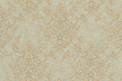 46503 cikkszámú tapéta.Barokk-klasszikus,különleges felületű,arany,zöld,súrolható,vlies tapéta