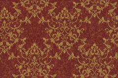 46505 cikkszámú tapéta.Barokk-klasszikus,különleges felületű,arany,piros-bordó,súrolható,vlies tapéta