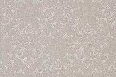 46506 cikkszámú tapéta.Barokk-klasszikus,különleges felületű,gyöngyház,szürke,súrolható,vlies tapéta