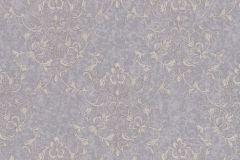 46507 cikkszámú tapéta.Barokk-klasszikus,különleges felületű,bézs-drapp,lila,szürke,súrolható,vlies tapéta