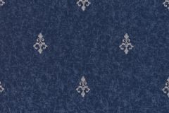 46604 cikkszámú tapéta.Barokk-klasszikus,különleges felületű,ezüst,kék,súrolható,vlies tapéta
