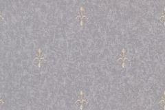 46607 cikkszámú tapéta.Barokk-klasszikus,különleges felületű,bézs-drapp,lila,szürke,súrolható,vlies tapéta