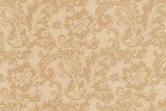 46802 cikkszámú tapéta.Barokk-klasszikus,különleges felületű,textil hatású,arany,bézs-drapp,súrolható,vlies tapéta