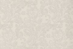 46811 cikkszámú tapéta.Barokk-klasszikus,különleges felületű,textil hatású,fehér,gyöngyház,lila,súrolható,vlies tapéta