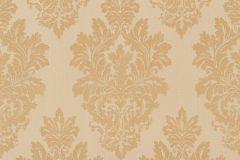 46902 cikkszámú tapéta.Barokk-klasszikus,különleges felületű,textil hatású,arany,bézs-drapp,súrolható,vlies tapéta