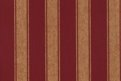 47105 cikkszámú tapéta.Csíkos,különleges felületű,textil hatású,arany,piros-bordó,súrolható,illesztés mentes,vlies tapéta