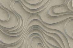 56322 cikkszámú tapéta.Absztrakt,különleges felületű,különleges motívumos,textil hatású,szürke,zöld,lemosható,vlies tapéta
