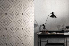 56332 cikkszámú tapéta.Absztrakt,különleges felületű,különleges motívumos,textil hatású,ezüst,szürke,lemosható,vlies tapéta