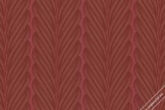 59829 cikkszámú tapéta.Absztrakt,dekor,különleges felületű,különleges motívumos,metál-fényes,3d hatású,piros-bordó,lemosható,illesztés mentes,vlies tapéta