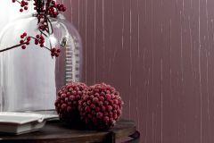 63313 cikkszámú tapéta.Egyszínű,különleges felületű,különleges motívumos,lila,lemosható,illesztés mentes,vlies tapéta