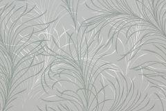 55715 cikkszámú tapéta.Metál-fényes,természeti mintás,virágmintás,ezüst,fehér,gyöngyház,szürke,lemosható,vlies tapéta