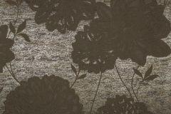 55743 cikkszámú tapéta.Metál-fényes,virágmintás,barna,bronz,lemosható,vlies tapéta