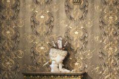 52540 cikkszámú tapéta.Különleges felületű,különleges motívumos,metál-fényes,arany,lemosható,vlies tapéta