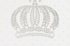 52716 cikkszámú tapéta.Dekor,gyöngyös,különleges felületű,különleges motívumos,ezüst,fehér,szürke,lemosható,vlies panel, fotótapéta