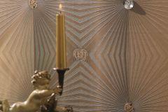 54406 cikkszámú tapéta.3d hatású,gyöngyös,különleges felületű,különleges motívumos,metál-fényes,arany,barna,lemosható,vlies tapéta