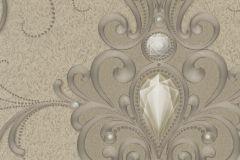 54426 cikkszámú tapéta.Barokk-klasszikus,különleges felületű,különleges motívumos,metál-fényes,bézs-drapp,vajszín,lemosható,vlies tapéta