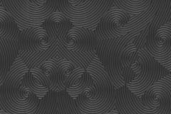 54466 cikkszámú tapéta.3d hatású,különleges felületű,különleges motívumos,metál-fényes,fekete,szürke,lemosható,vlies tapéta