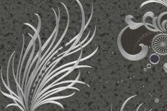 54469 cikkszámú tapéta.Különleges felületű,különleges motívumos,metál-fényes,ezüst,fekete,lemosható,vlies tapéta