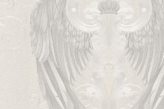 54843 cikkszámú tapéta.Különleges felületű,különleges motívumos,metál-fényes,ezüst,fehér,szürke,lemosható,vlies tapéta
