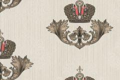 54855 cikkszámú tapéta.Különleges felületű,különleges motívumos,metál-fényes,bézs-drapp,bronz,piros-bordó,lemosható,vlies tapéta