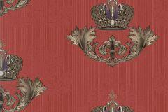 54856 cikkszámú tapéta.Különleges felületű,különleges motívumos,metál-fényes,bronz,ezüst,piros-bordó,lemosható,vlies tapéta