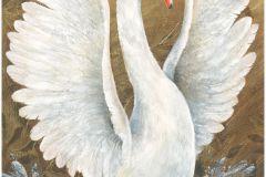 58501 cikkszámú tapéta.állatok,dekor,különleges felületű,különleges motívumos,barna,bronz,fekete,kék,narancs-terrakotta,szürke,lemosható,vlies panel, fotótapéta